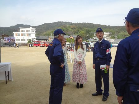 南海トラフ地震一斉避難訓練